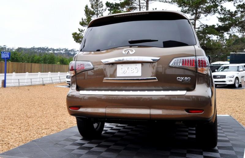 Car-Revs-Daily.com 2015 INFINITI QX80 Limited Pebble Beach 57