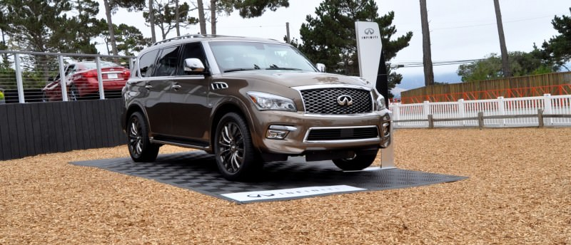 Car-Revs-Daily.com 2015 INFINITI QX80 Limited Pebble Beach 71