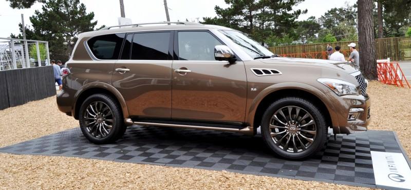 Car-Revs-Daily.com 2015 INFINITI QX80 Limited Pebble Beach 80