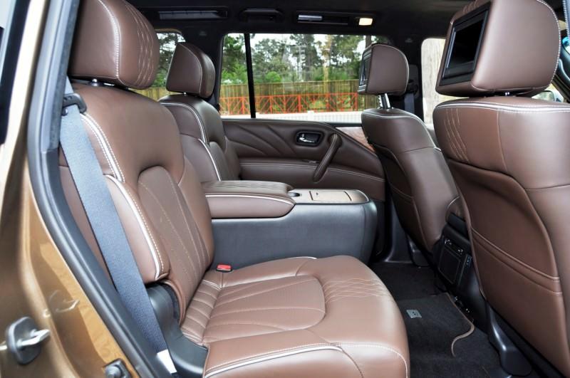 Car-Revs-Daily.com 2015 INFINITI QX80 Limited Pebble Beach 83