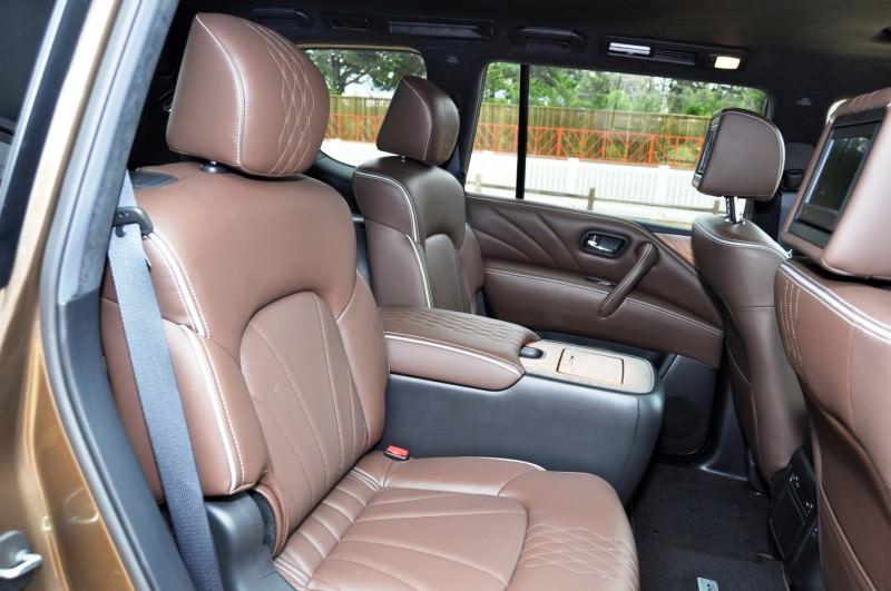 Car-Revs-Daily.com 2015 INFINITI QX80 Limited Pebble Beach 84