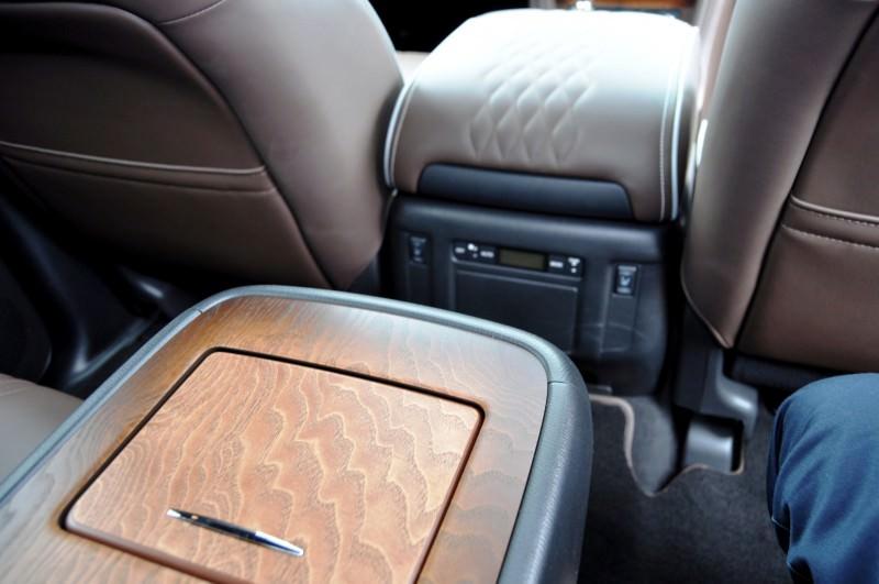 Car-Revs-Daily.com 2015 INFINITI QX80 Limited Pebble Beach 91