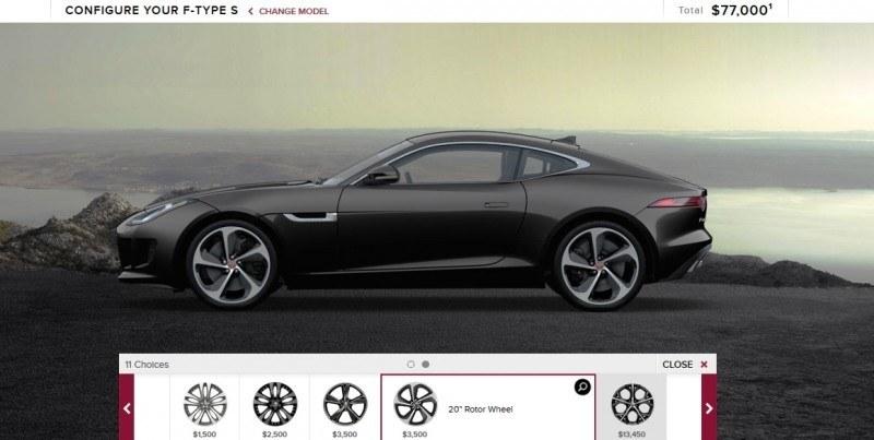 Car-Revs-Daily.com 2015 JAGUAR F-Type S Coupe - Options, Exteriors and Interior Colors Detailed13