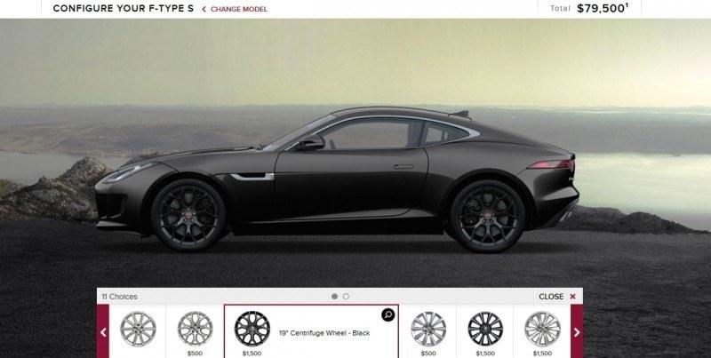 Car-Revs-Daily.com 2015 JAGUAR F-Type S Coupe - Options, Exteriors and Interior Colors Detailed18