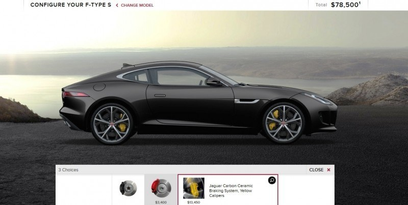 Car-Revs-Daily.com 2015 JAGUAR F-Type S Coupe - Options, Exteriors and Interior Colors Detailed20