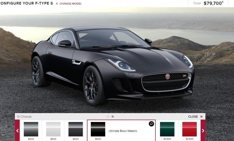 Car-Revs-Daily.com 2015 JAGUAR F-Type S Coupe - Options, Exteriors and Interior Colors Detailed26