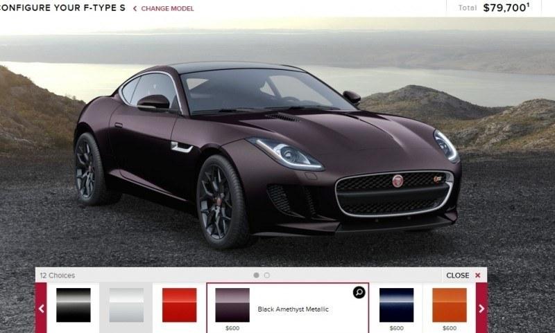 Car-Revs-Daily.com 2015 JAGUAR F-Type S Coupe - Options, Exteriors and Interior Colors Detailed30