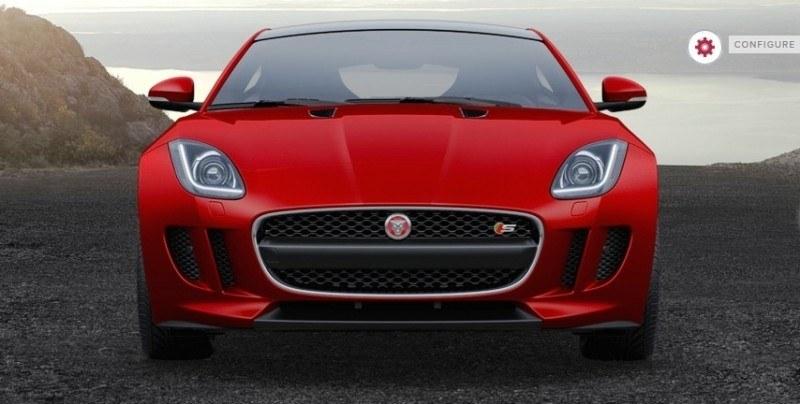 Car-Revs-Daily.com 2015 JAGUAR F-Type S Coupe - Options, Exteriors and Interior Colors Detailed45