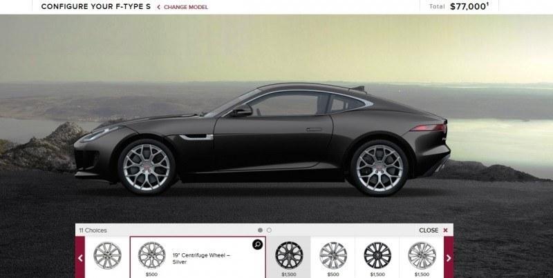 Car-Revs-Daily.com 2015 JAGUAR F-Type S Coupe - Options, Exteriors and Interior Colors Detailed5