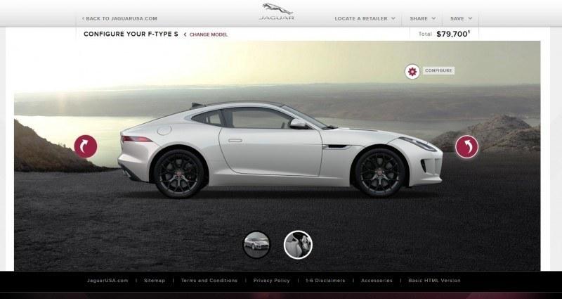 Car-Revs-Daily.com 2015 JAGUAR F-Type S Coupe - Options, Exteriors and Interior Colors Detailed54