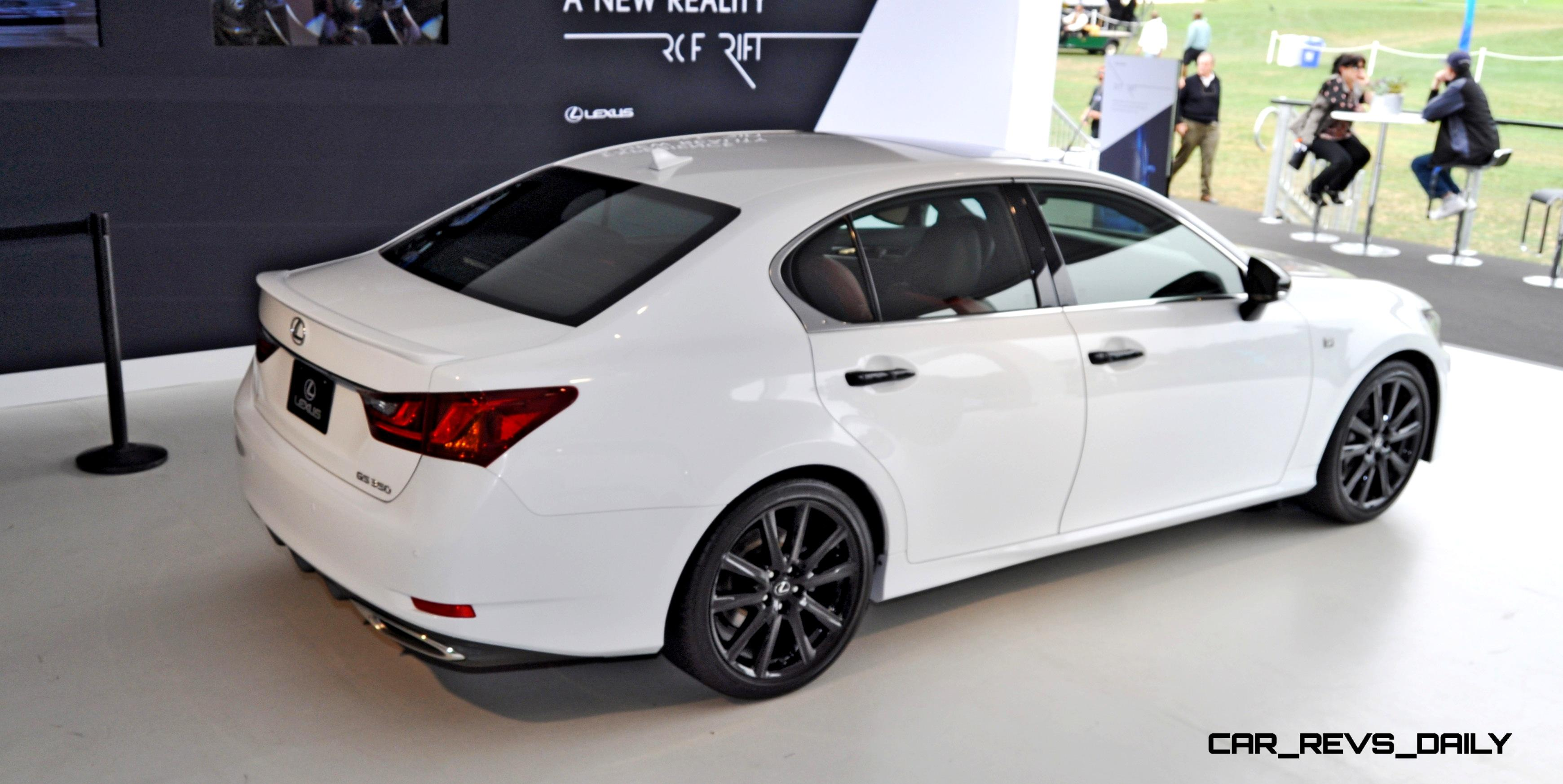 2015 Lexus GS350 Crafted Line Aces Style Mood in Bright White Over