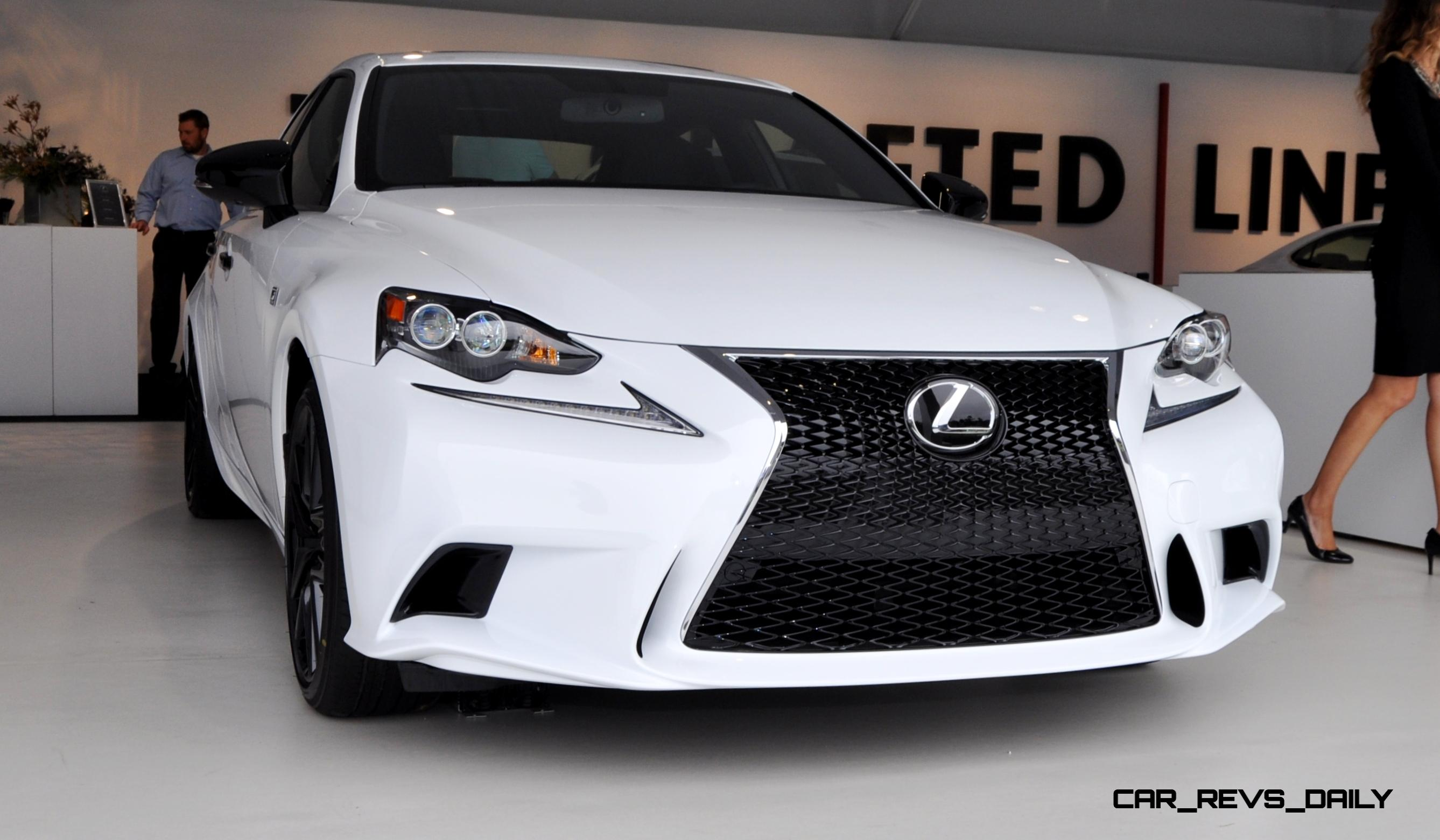 Car Revs Daily 2015 Lexus IS250 F Sport CRAFTED LINE 1