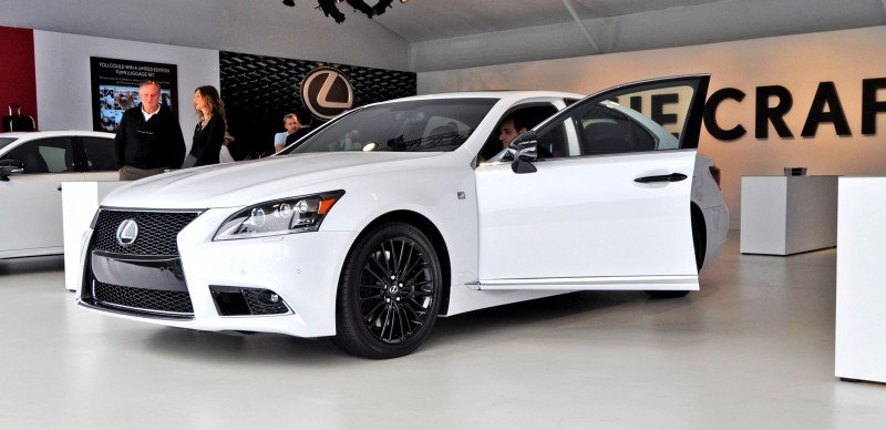Car-Revs-Daily.com 2015 Lexus LS460 F Sport Crafted Line Is Most-Enhanced by Glossy Black and White Makeover 10