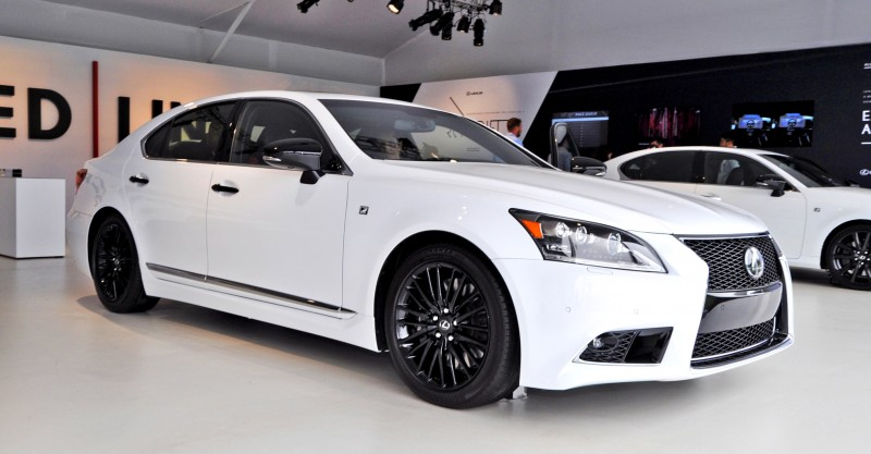 Car-Revs-Daily.com 2015 Lexus LS460 F Sport Crafted Line Is Most-Enhanced by Glossy Black and White Makeover 27