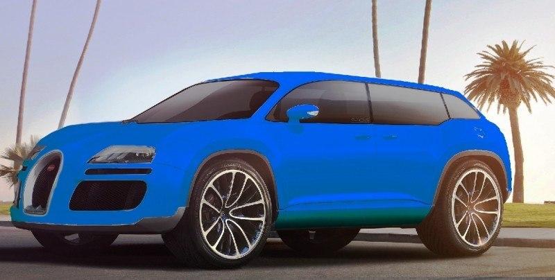 Car-Revs-Daily.com 2017 BUGATTI SUV Renderings 9