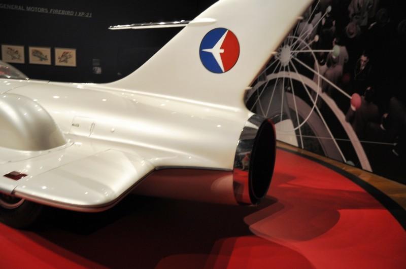 Car-Revs-Daily.com Atlanta Dream Cars Showcase - 1953 Firebird I XP-21 By General Motors 26