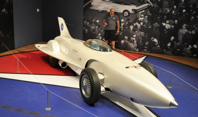 Car-Revs-Daily.com Atlanta Dream Cars Showcase - 1953 Firebird I XP-21 By General Motors 6