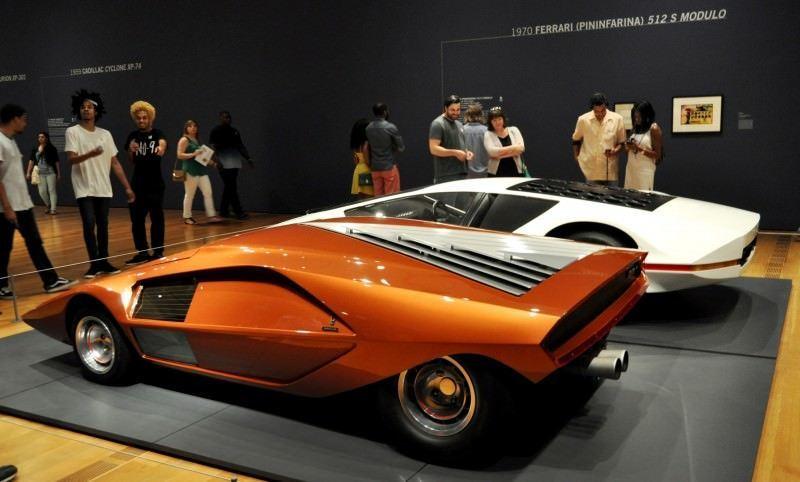 Car-Revs-Daily.com Atlanta Dream Cars Showcase - 1970 Ferrari 512 S Modulo by Pininfarina 2