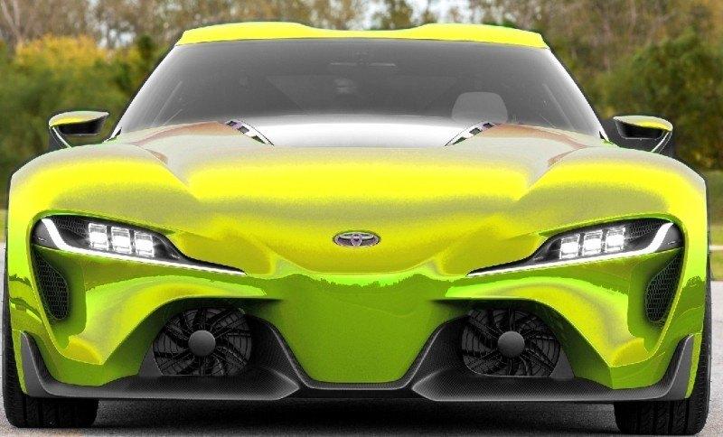 Car-Revs-Daily.com FT-1 Digital Colorizer - 150 Shades of 2016 TOYOTA SUPRA TURBO 16