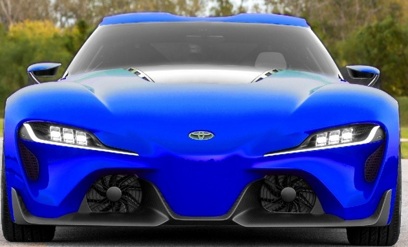 Car-Revs-Daily.com FT-1 Digital Colorizer - 150 Shades of 2016 TOYOTA SUPRA TURBO 32