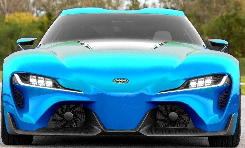 Car-Revs-Daily.com FT-1 Digital Colorizer - 150 Shades of 2016 TOYOTA SUPRA TURBO 35