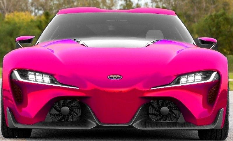 Car-Revs-Daily.com FT-1 Digital Colorizer - 150 Shades of 2016 TOYOTA SUPRA TURBO 43