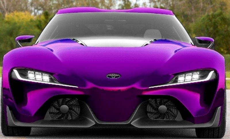 Car-Revs-Daily.com FT-1 Digital Colorizer - 150 Shades of 2016 TOYOTA SUPRA TURBO 66