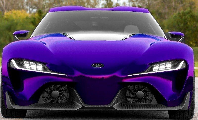 Car-Revs-Daily.com FT-1 Digital Colorizer - 150 Shades of 2016 TOYOTA SUPRA TURBO 68