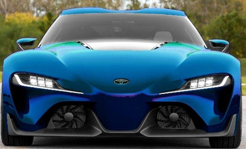 Car-Revs-Daily.com FT-1 Digital Colorizer - 150 Shades of 2016 TOYOTA SUPRA TURBO 73