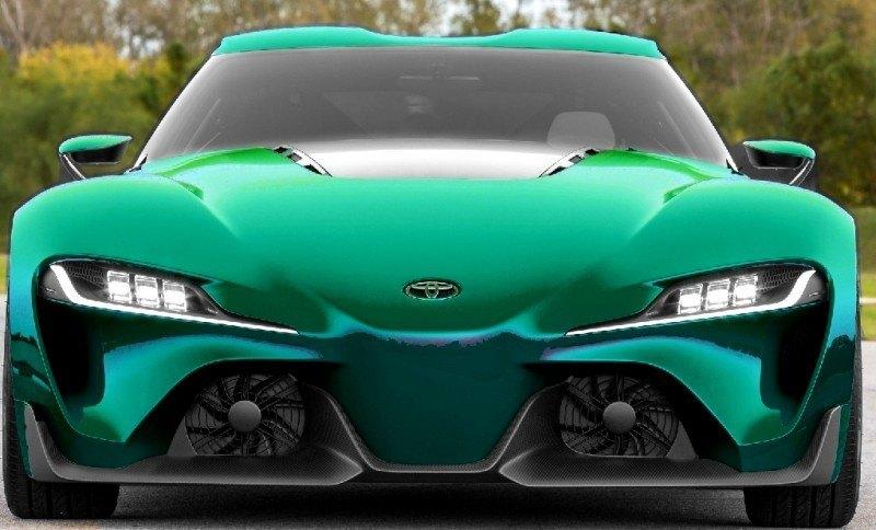 Car-Revs-Daily.com FT-1 Digital Colorizer - 150 Shades of 2016 TOYOTA SUPRA TURBO 75
