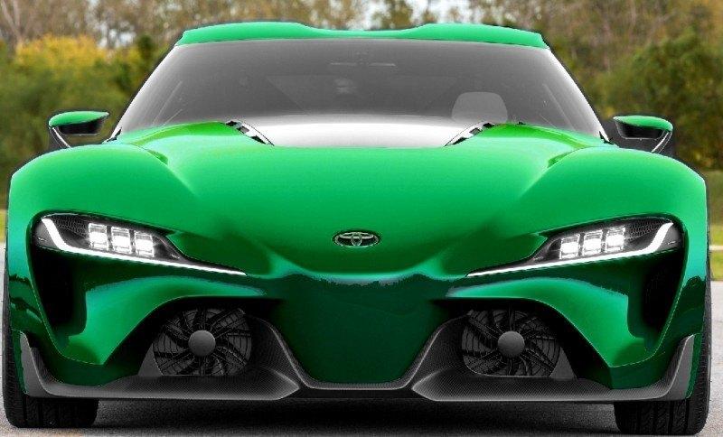 Car-Revs-Daily.com FT-1 Digital Colorizer - 150 Shades of 2016 TOYOTA SUPRA TURBO 77
