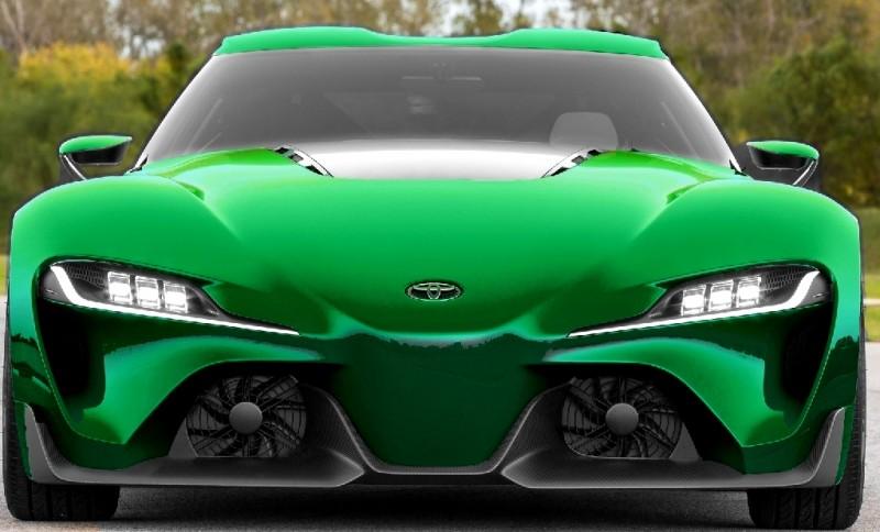 Car-Revs-Daily.com FT-1 Digital Colorizer - 150 Shades of 2016 TOYOTA SUPRA TURBO 78