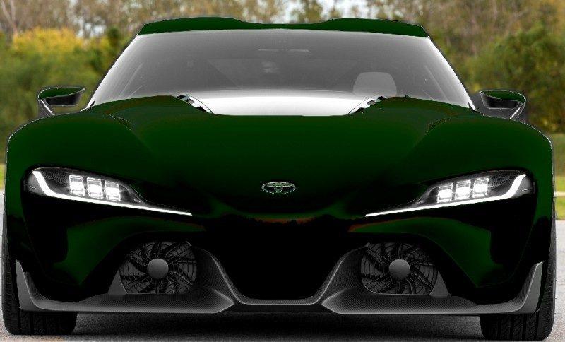 Car-Revs-Daily.com FT-1 Digital Colorizer - 150 Shades of 2016 TOYOTA SUPRA TURBO 88