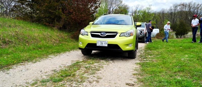 Car-Revs-Daily.com Goes Off-Roading in 2014 Subaru XV Crosstrek Hybrid 18