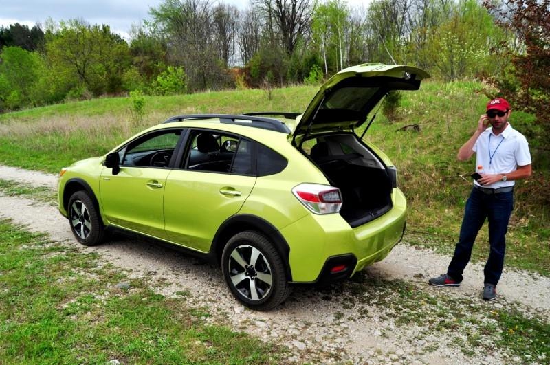 Car-Revs-Daily.com Goes Off-Roading in 2014 Subaru XV Crosstrek Hybrid 2