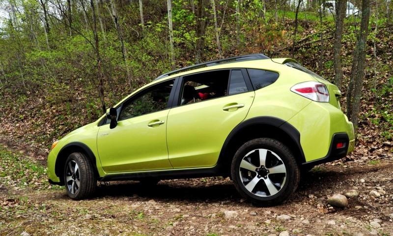 Car-Revs-Daily.com Goes Off-Roading in 2014 Subaru XV Crosstrek Hybrid 31