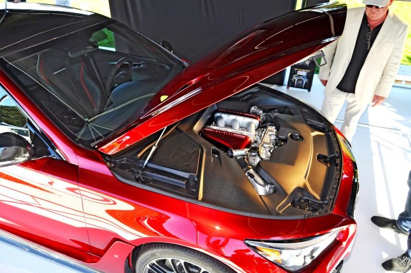 Car-Revs-Daily.com INFINITI Q50 Eau Rouge in 40 New Photos From Pebble Beach  17