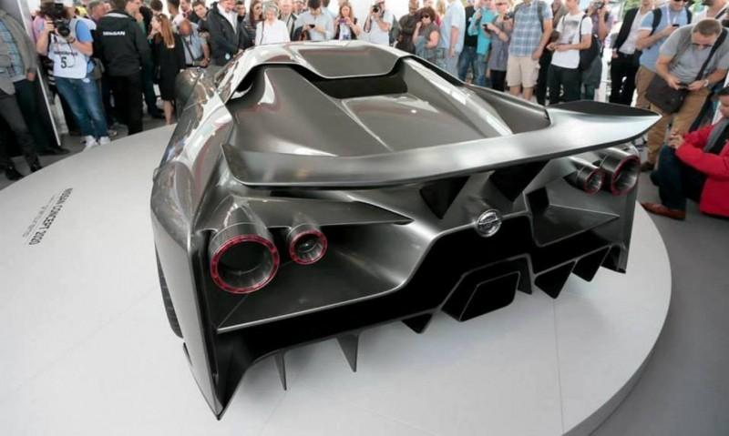Car-Revs-Daily.com Nissan NC2020 Vision Gran Turismo Makes Real-Life Debut at Goodwood FoS 1