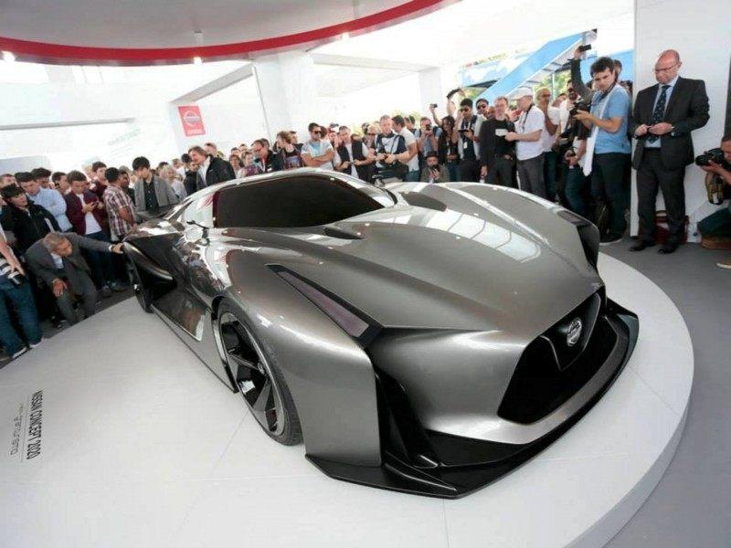 Car-Revs-Daily.com Nissan NC2020 Vision Gran Turismo Makes Real-Life Debut at Goodwood FoS 16