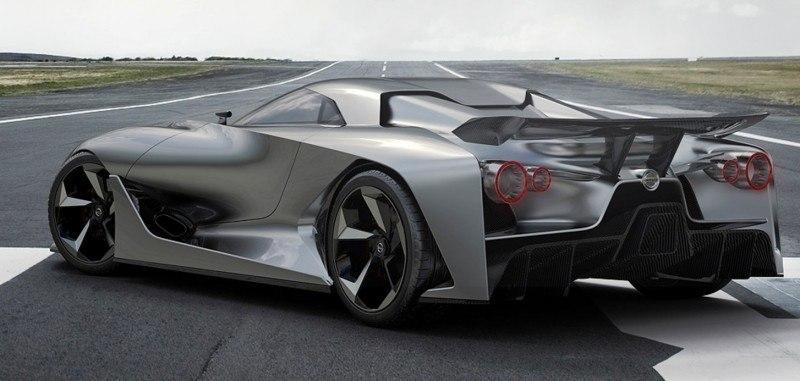 Car-Revs-Daily.com Nissan NC2020 Vision Gran Turismo Makes Real-Life Debut at Goodwood FoS 24