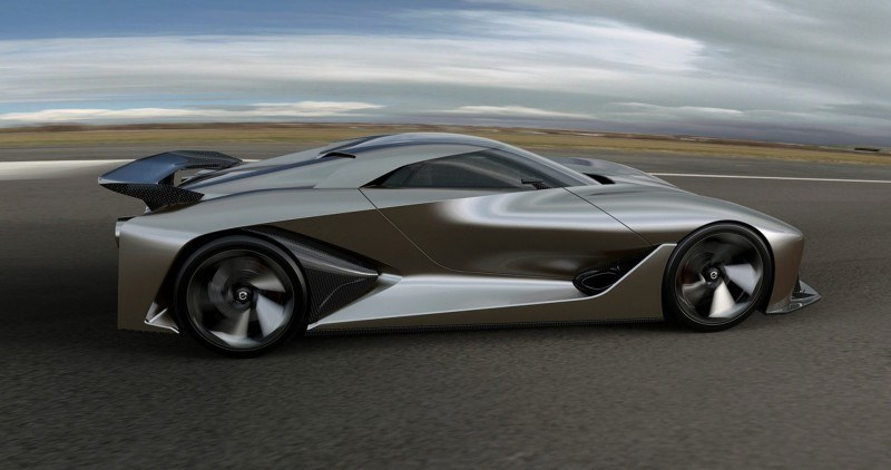 Car-Revs-Daily.com Nissan NC2020 Vision Gran Turismo Makes Real-Life Debut at Goodwood FoS 28
