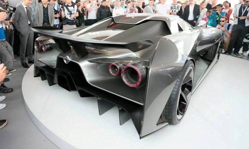 Car-Revs-Daily.com Nissan NC2020 Vision Gran Turismo Makes Real-Life Debut at Goodwood FoS 4