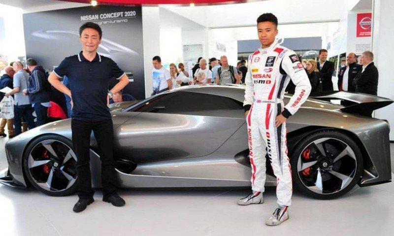 Car-Revs-Daily.com Nissan NC2020 Vision Gran Turismo Makes Real-Life Debut at Goodwood FoS 6