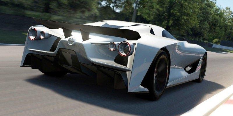 Car-Revs-Daily.com Nissan NC2020 Vision Gran Turismo Makes Real-Life Debut at Goodwood FoS 70