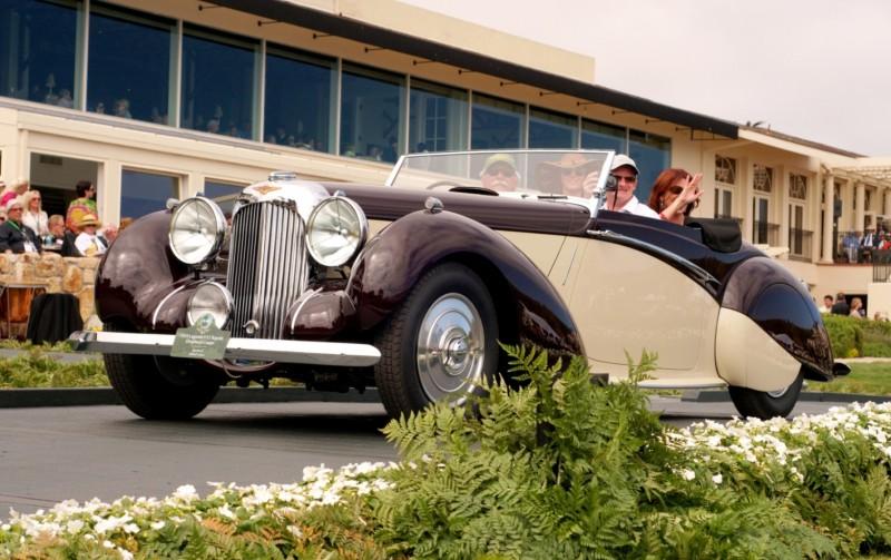 Car-Revs-Daily.com PEBBLE BEACH 2014 Concours - Award Winners Showcase by Entry Class 102