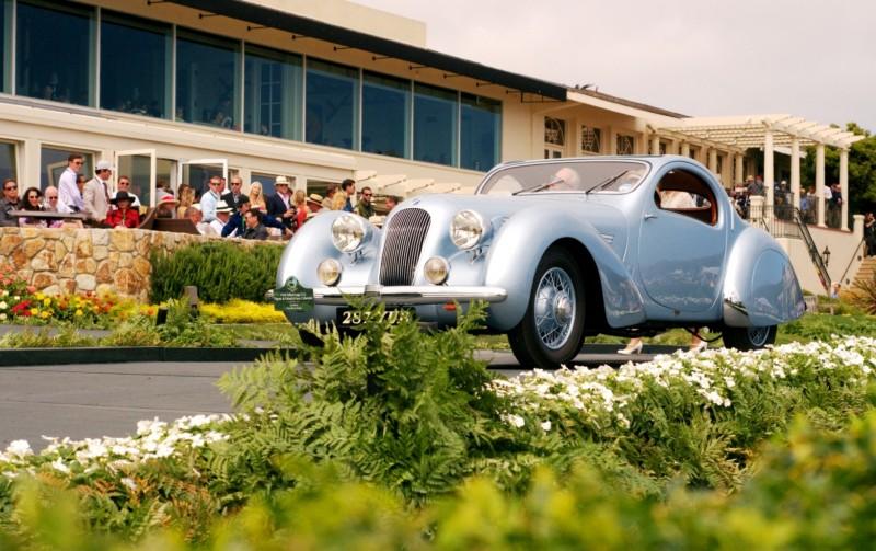 Car-Revs-Daily.com PEBBLE BEACH 2014 Concours - Award Winners Showcase by Entry Class 107