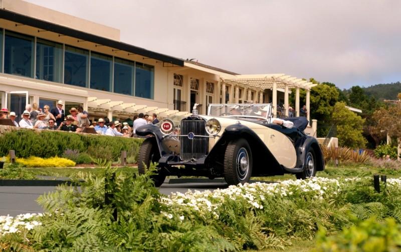 Car-Revs-Daily.com PEBBLE BEACH 2014 Concours - Award Winners Showcase by Entry Class 57