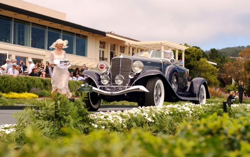 Car-Revs-Daily.com PEBBLE BEACH 2014 Concours - Award Winners Showcase by Entry Class 6
