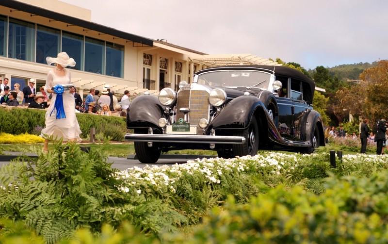 Car-Revs-Daily.com PEBBLE BEACH 2014 Concours - Award Winners Showcase by Entry Class 84