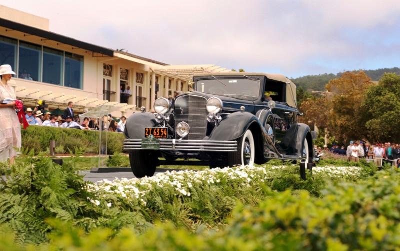 Car-Revs-Daily.com PEBBLE BEACH 2014 Concours - Award Winners Showcase by Entry Class 9